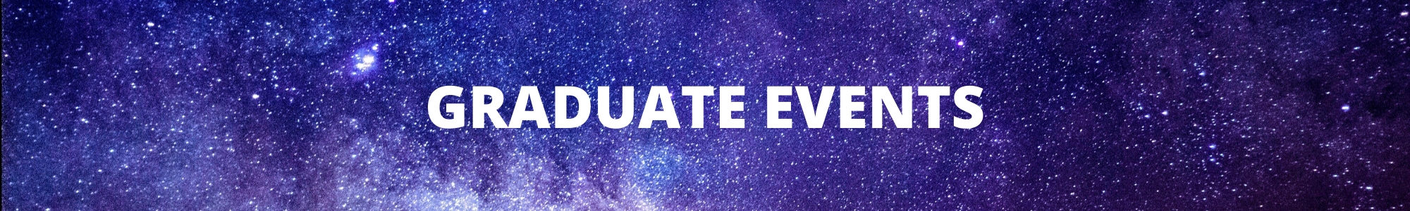 Graduate Events